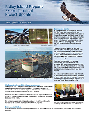 Ridley Island Propane Export Terminal Project Update Issue 2