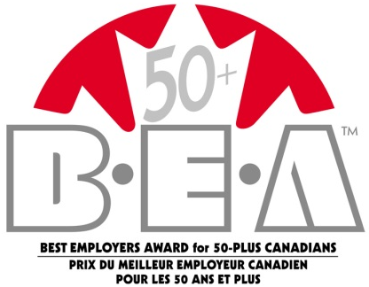 best employer award for 50 plus canadians
