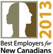 best employers new canadians 2013