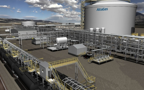 AltaGas facility rendering