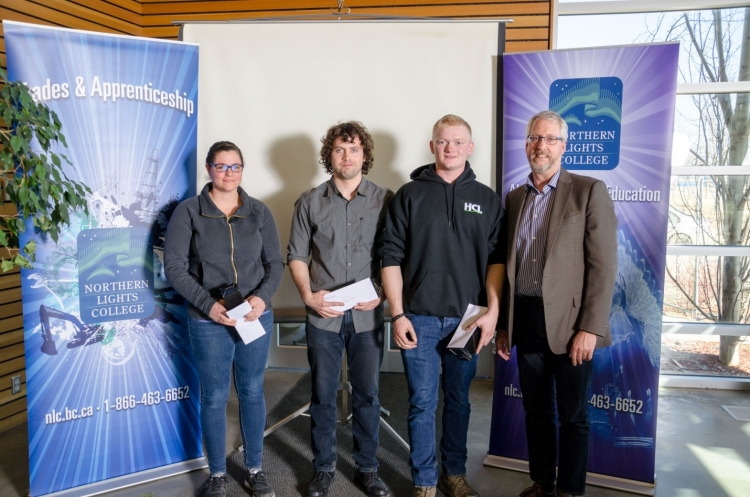 AltaGas Wind Turbine Maintenance Technician Bursary recipients
