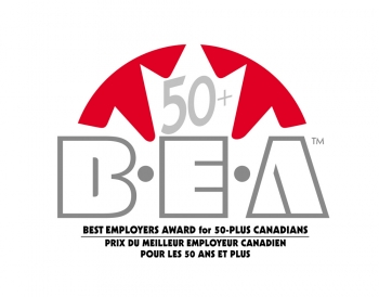 Best Employers Award for 50-Plus Canadians