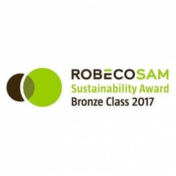 Bronze Class Sustainability Award, RobecoSAM